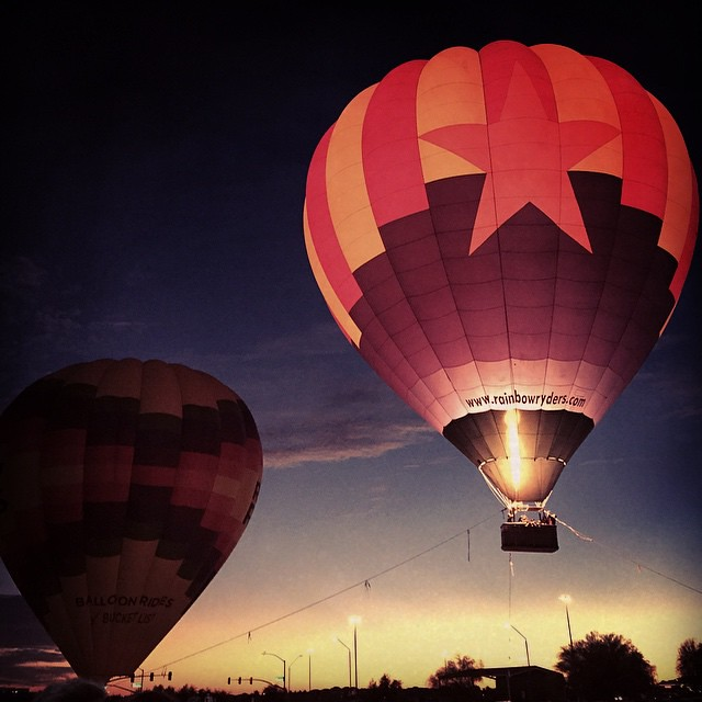 Balloon glow!! by bartlewife