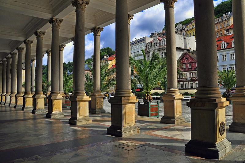 Park Colonnade, Karlovy Vary, Czech