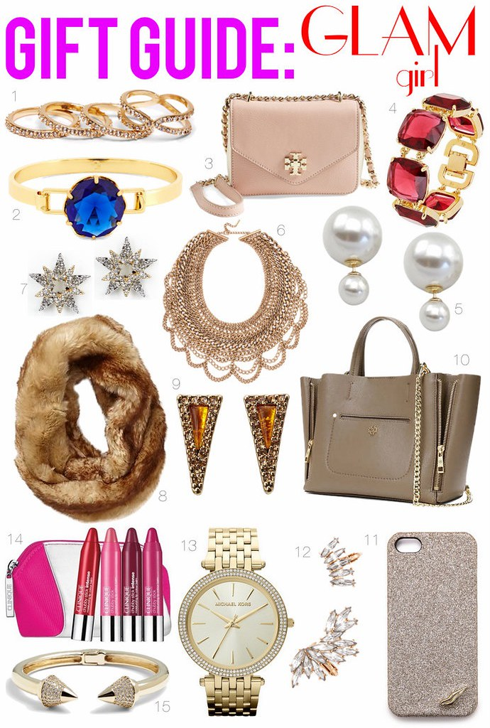 Gift Guide: Glam Girl | Holiday Shopping | #LivingAfterMidnite