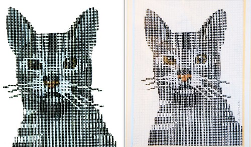Sottler print, side-by-side comparison