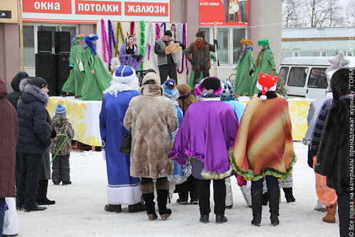 Районный новогодний праздник