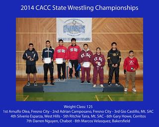 2014 CA JC State Podiums