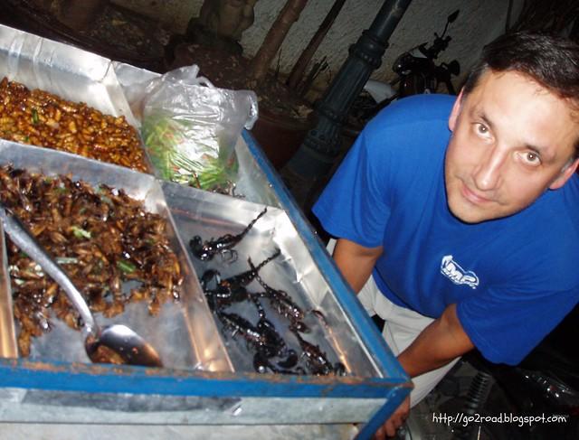 Уличная еда в Тае
