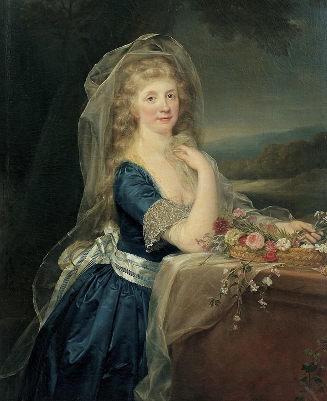 Anton von Maron - Portrait of Anna Pieri Brignole Sale (c.1800)