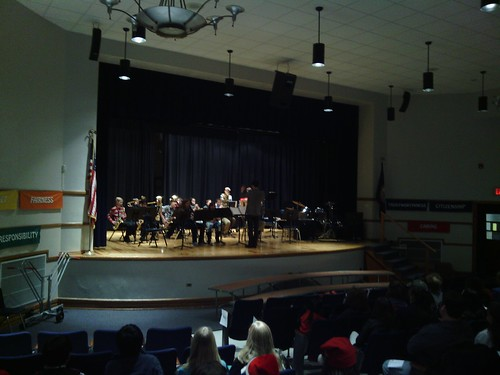 Dec 17 2014 Clark 6th grade band concert (2)