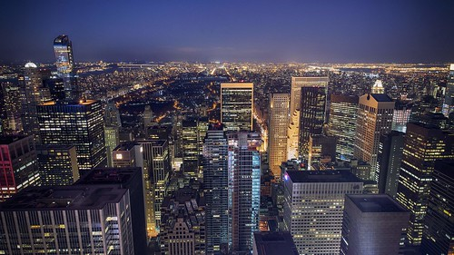 nyc newyorkcity skyscraper nightlights nacht hdr topoftherock lichter hochhäuser viewfromrockefellercenter sonya7r