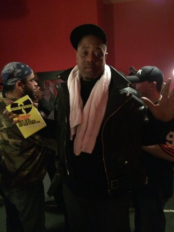 Cappadonna supporting my Wu book. #handsupdontshoot