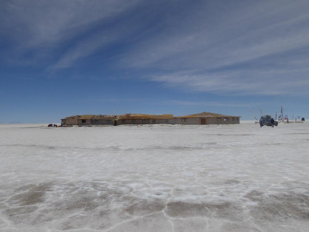 Salt Hotel, Uyuni Salt Flats, Bolivia