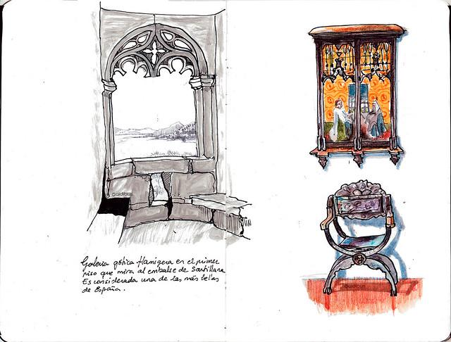 Mirador gótico / detalle interior