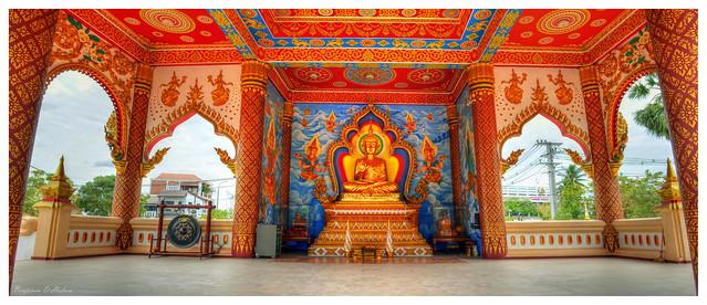 Sitting Buddha Shrine, Vientiane Laos