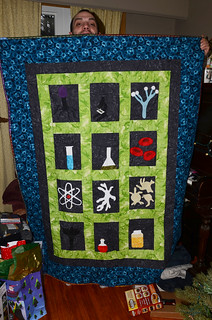 science quilt