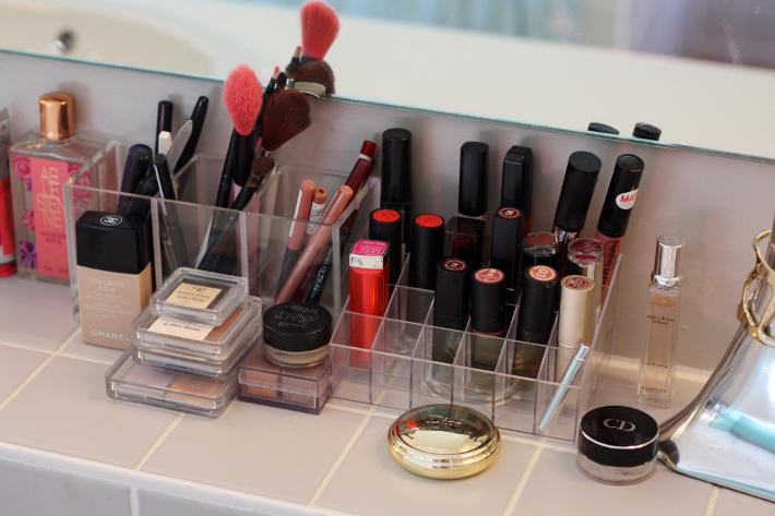 acrylic make up storage