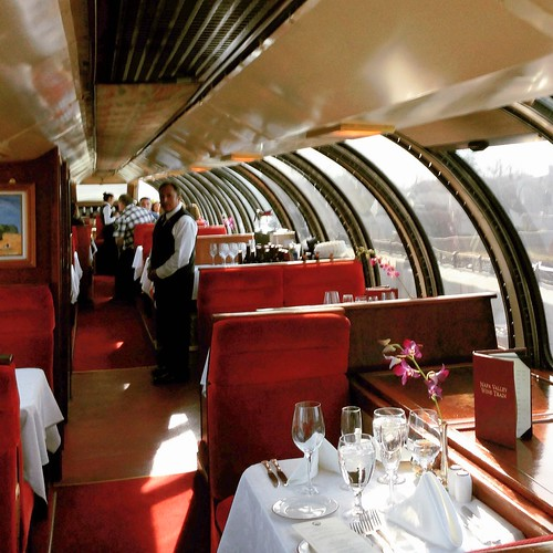 Vista Dome Car on the Napa Valley Wine Train