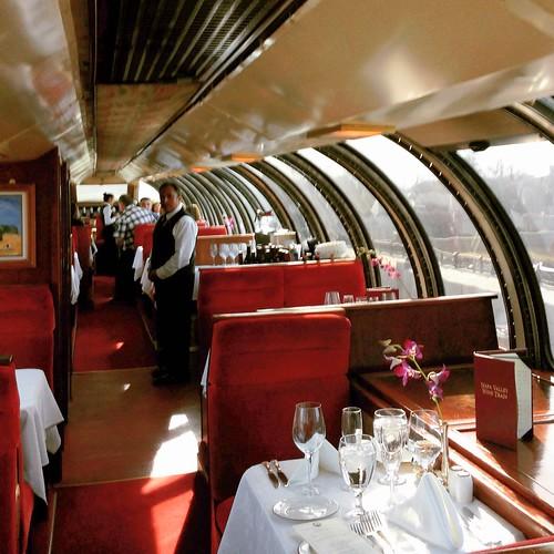 Vista Dome Car on the Napa Valley Wine Train