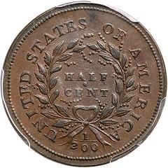Lot 79 1793 Half Cent reverse