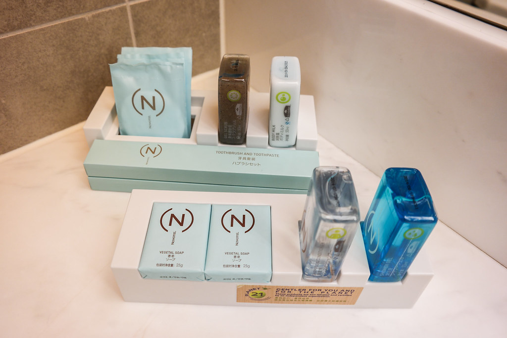 Novotel Hong Kong: Soap