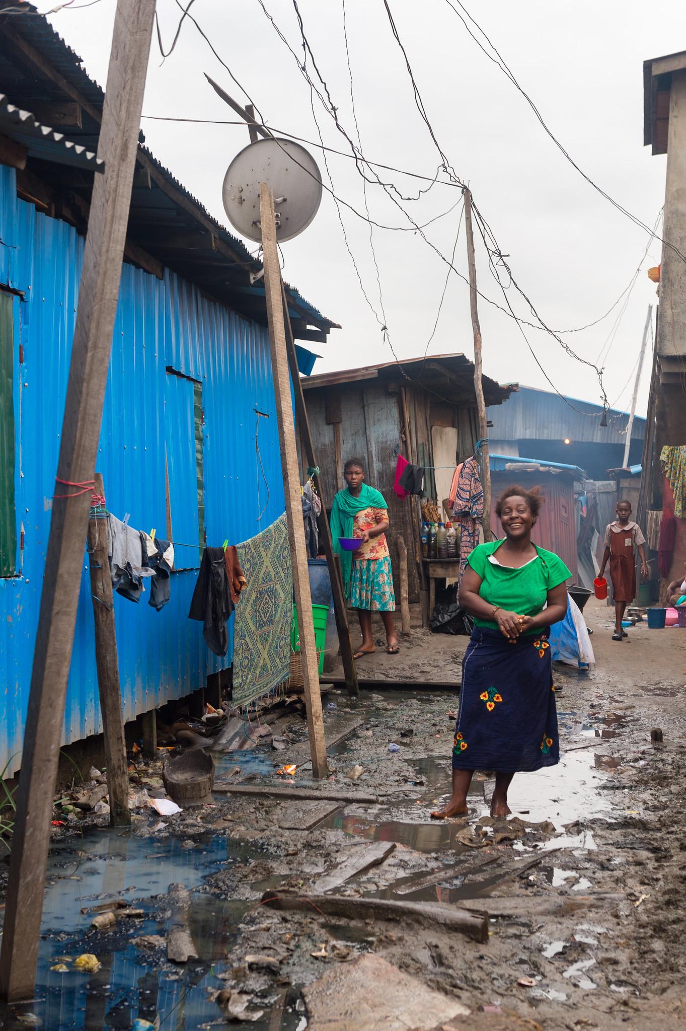 Makoko Land Entrance