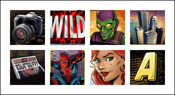 free Spider-Man: Attack of the Green Goblin slot game symbols