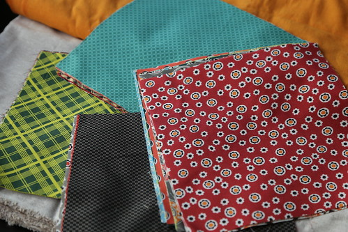 Square Dance Quilt Fabrics