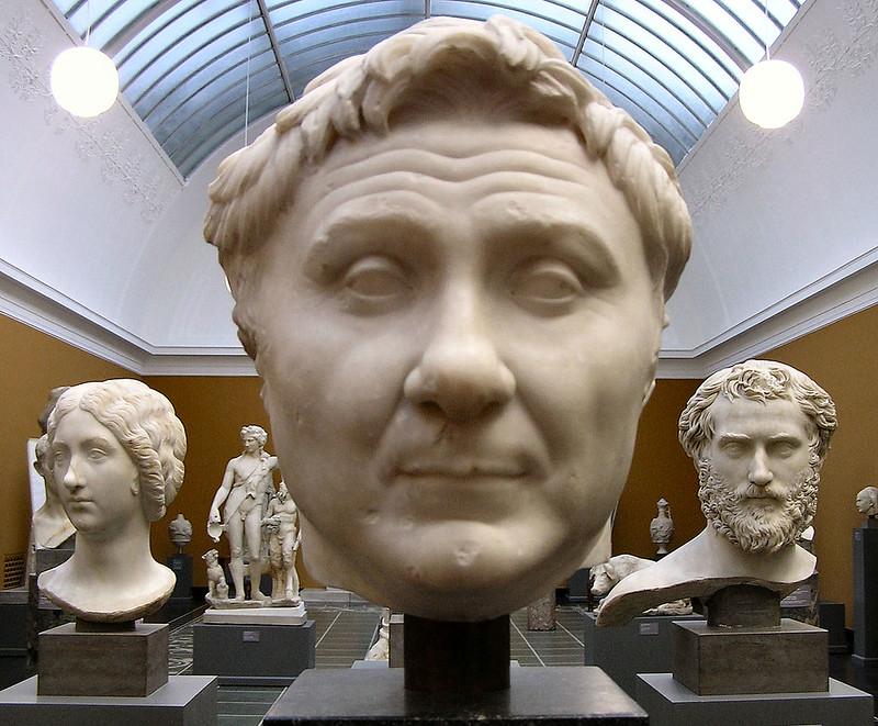 Bust of Gnaeus Pompeius in Ny Carlsberg Glyptotek