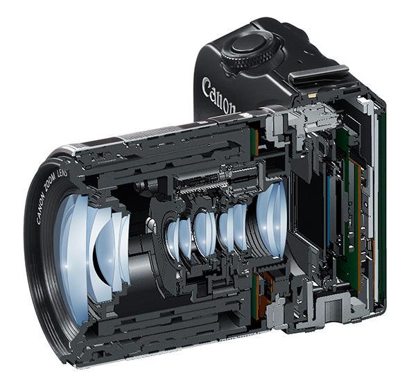 Canon EOS M в разрезе