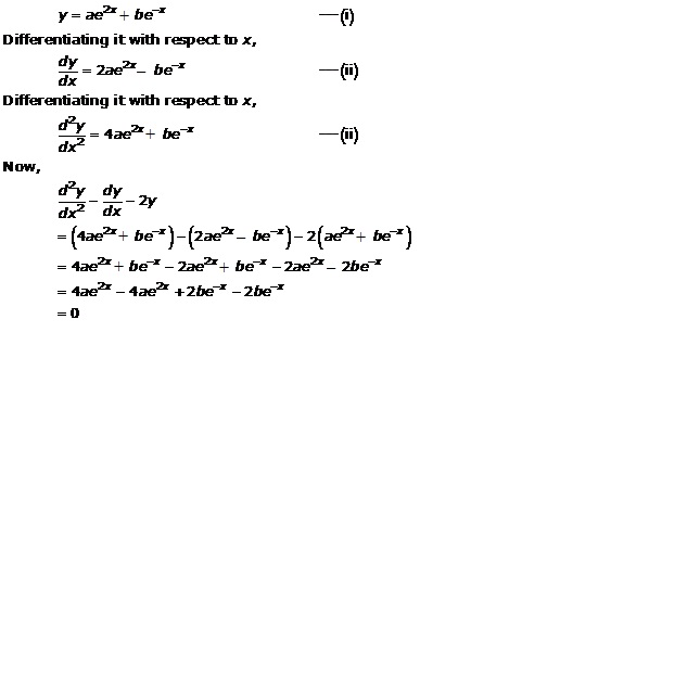 RD Sharma Class 12 Solutions Chapter 22 Differential Equations Ex 22.3 Q3