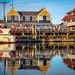 Richmond Steveston Fisherman's Wharf at Sunset by TOTORORO.RORO