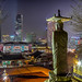 buddha overlooking seoul by Rotor Head photography
