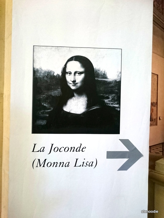 directions to Mona Lisa