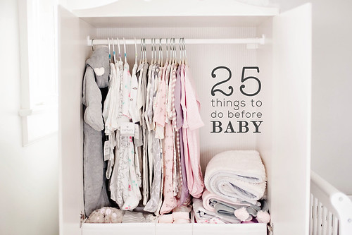 The ultimate list of things to do before your baby is born. This is a great roundup of the best posts all about how to prepare for your baby being born!