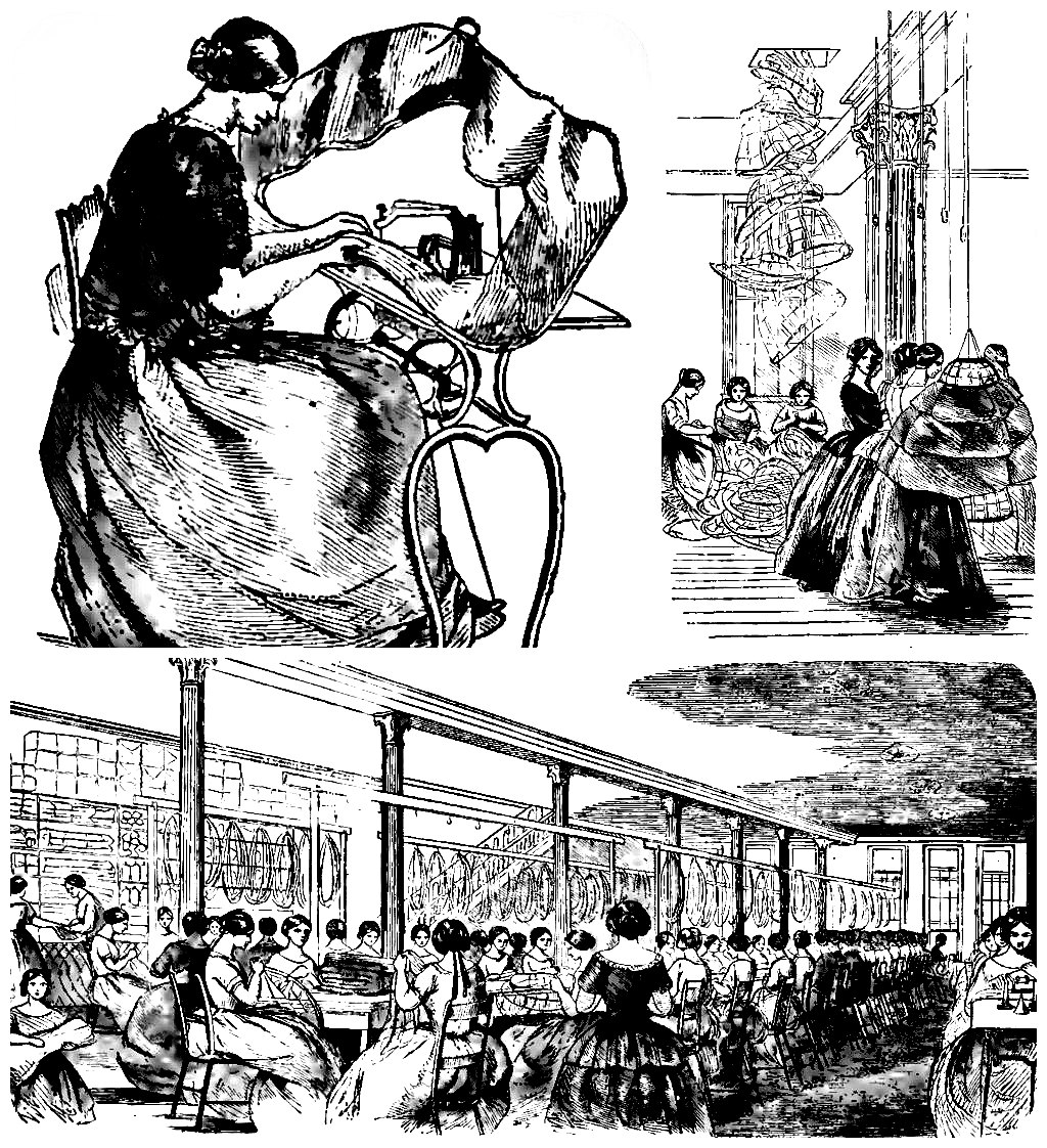 Douglas & Sherwood's Hoop Skirt Factory