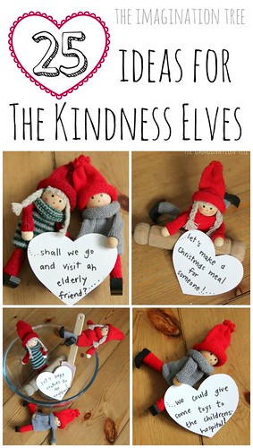 25 Ideas for the Kindness Elves (Photo from The Imagination Tree)