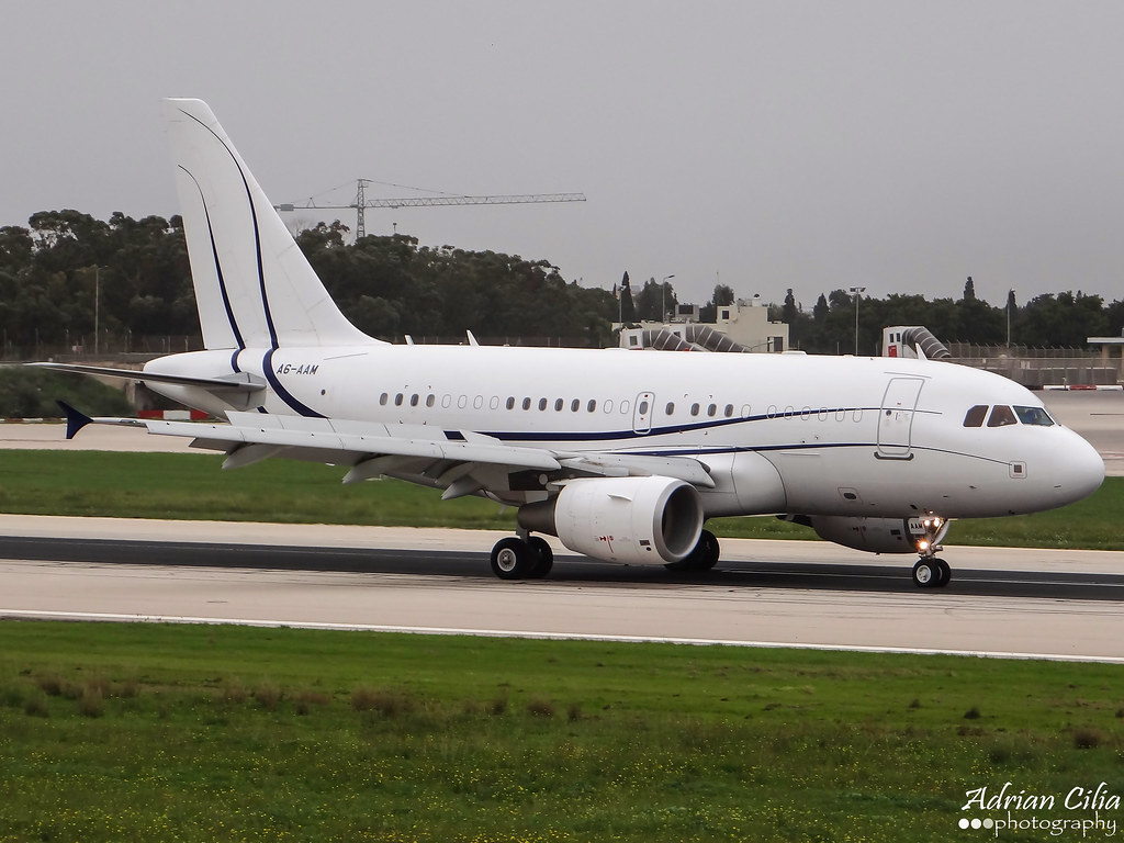 A6-AAM - A318 - Not Available