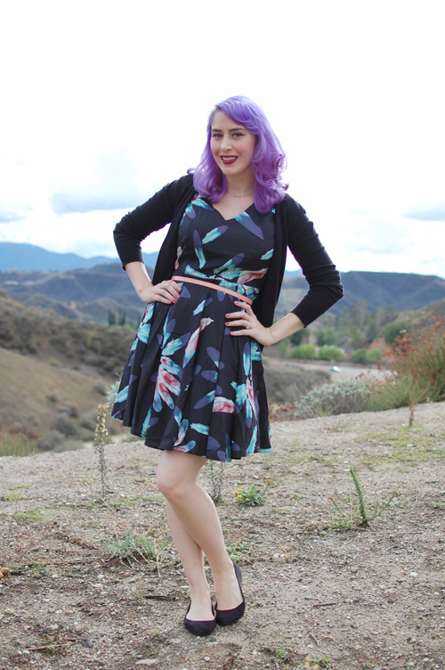 Modcloth Nine to Fine dress