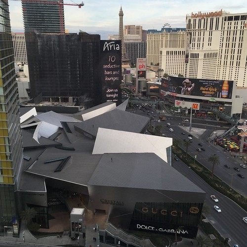 View from the Mandarin Oriental Las Vegas
