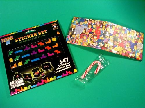 Loot Crate Anniversary Tetris & Simpsons