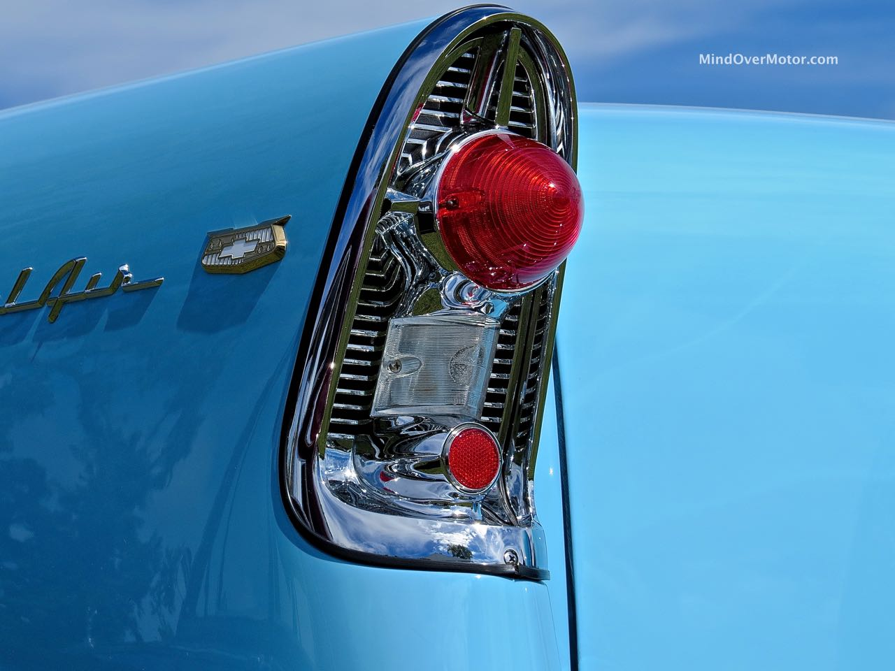 1956 Chevrolet Bel Air Convertible Taillight