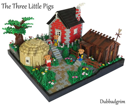 CCCXII - The Three Little Pigs