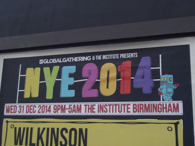 The Institute - NYE 2014