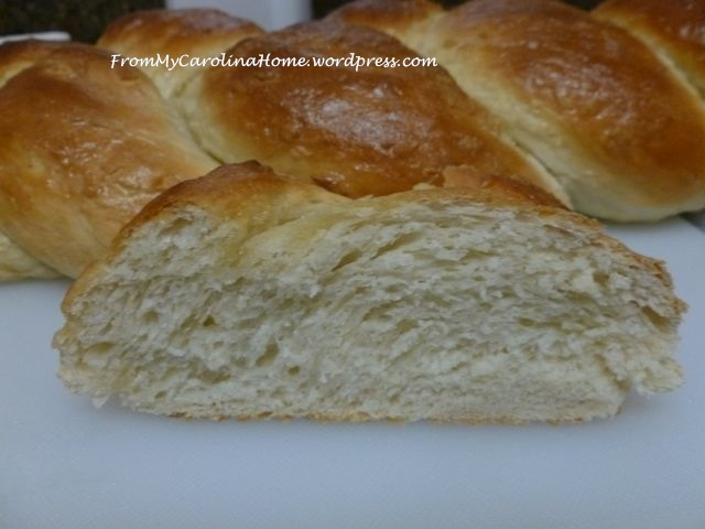 Rustic Egg Bread
