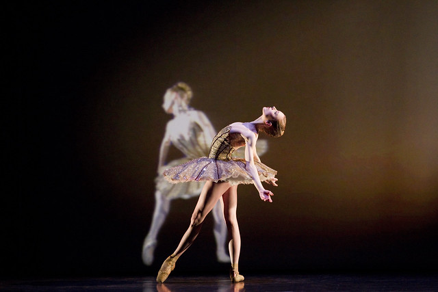 Sarah Lamb in Electric Counterpoint, The Royal Ballet © ROH/Johan Persson, 2010