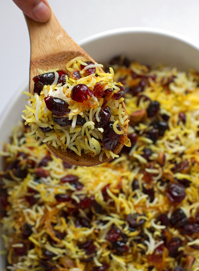 Persian Cranberry Rice Pilaf Recipe Little Spice Jar