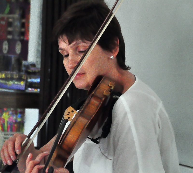 Street Violinist in Prague