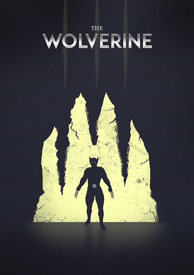 The Wolverine poster design
