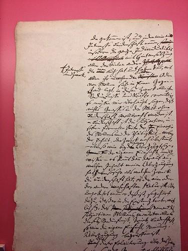 Hegel manuscript