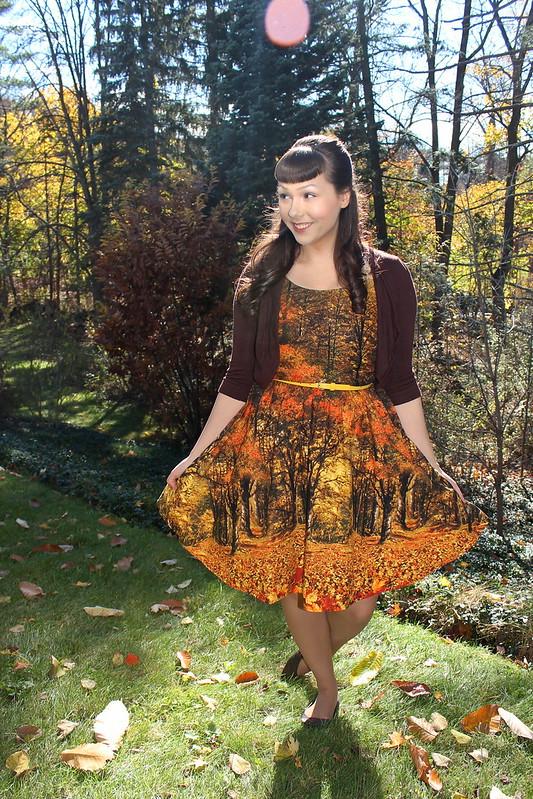 folter foliage dress