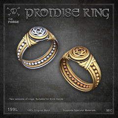 Forge Promise Ring