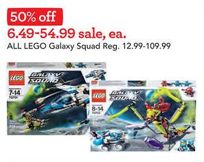 Toys R Us Galaxy Squad Sale