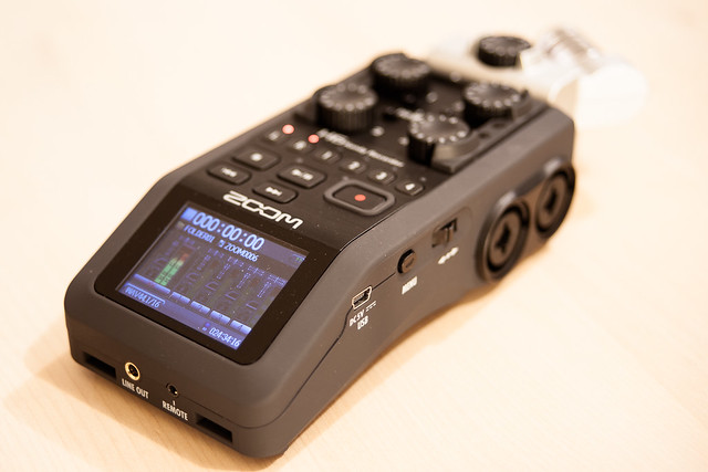Recorder: A lot of buttons and dials