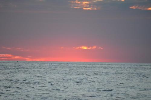 sunset oakisland